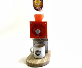 Totally Useless Coffee Dispenser…