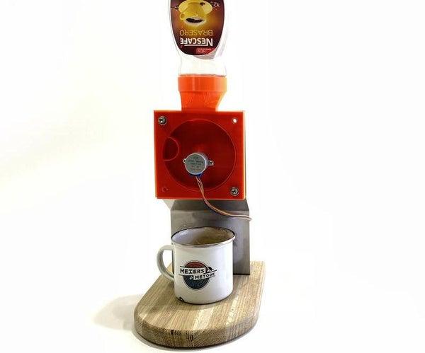 完全没用的咖啡机…