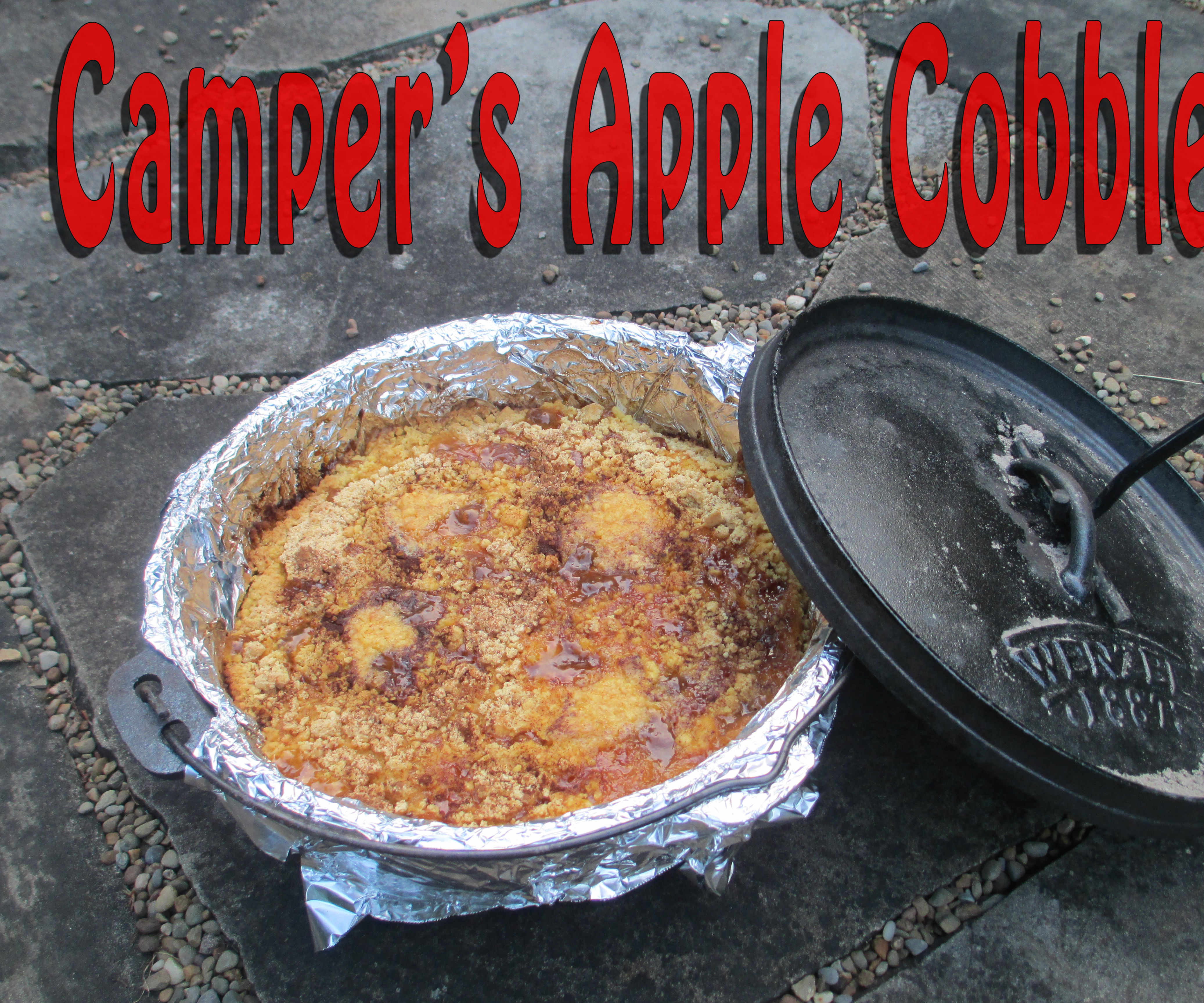Camper S Outdoor Apple Cobbler 12 Steps With Pictures Instructables