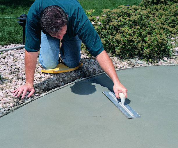 Install a Concrete Front Walk