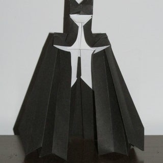 How to Make an Origami (paper) Batman Toy!