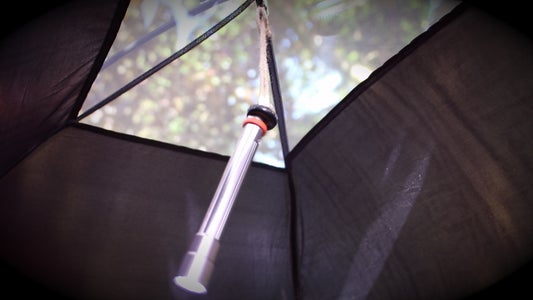 Light Up Your Tent With Sugru, Magnets & a Bottle Cap!