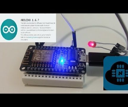 Programming ESP8266 ESP-12E NodeMCU Using Arduino IDE - a Tutorial