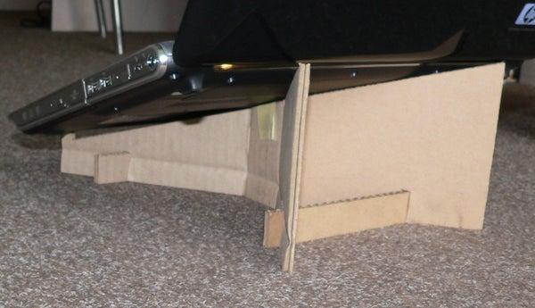 Cardboard Laptop Stand