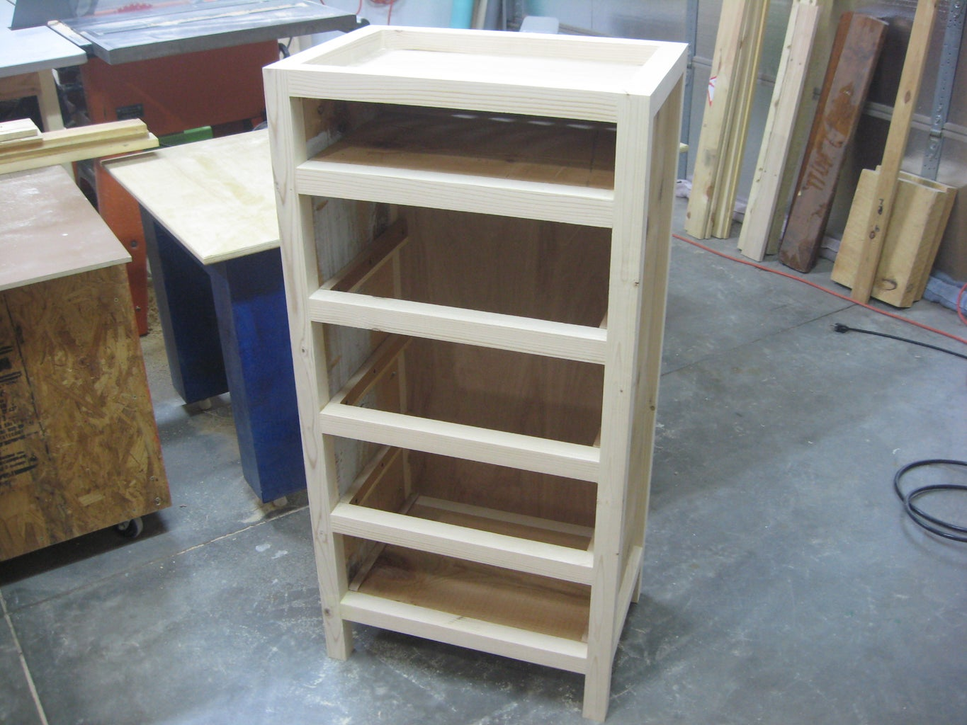 Completed Chest Frame