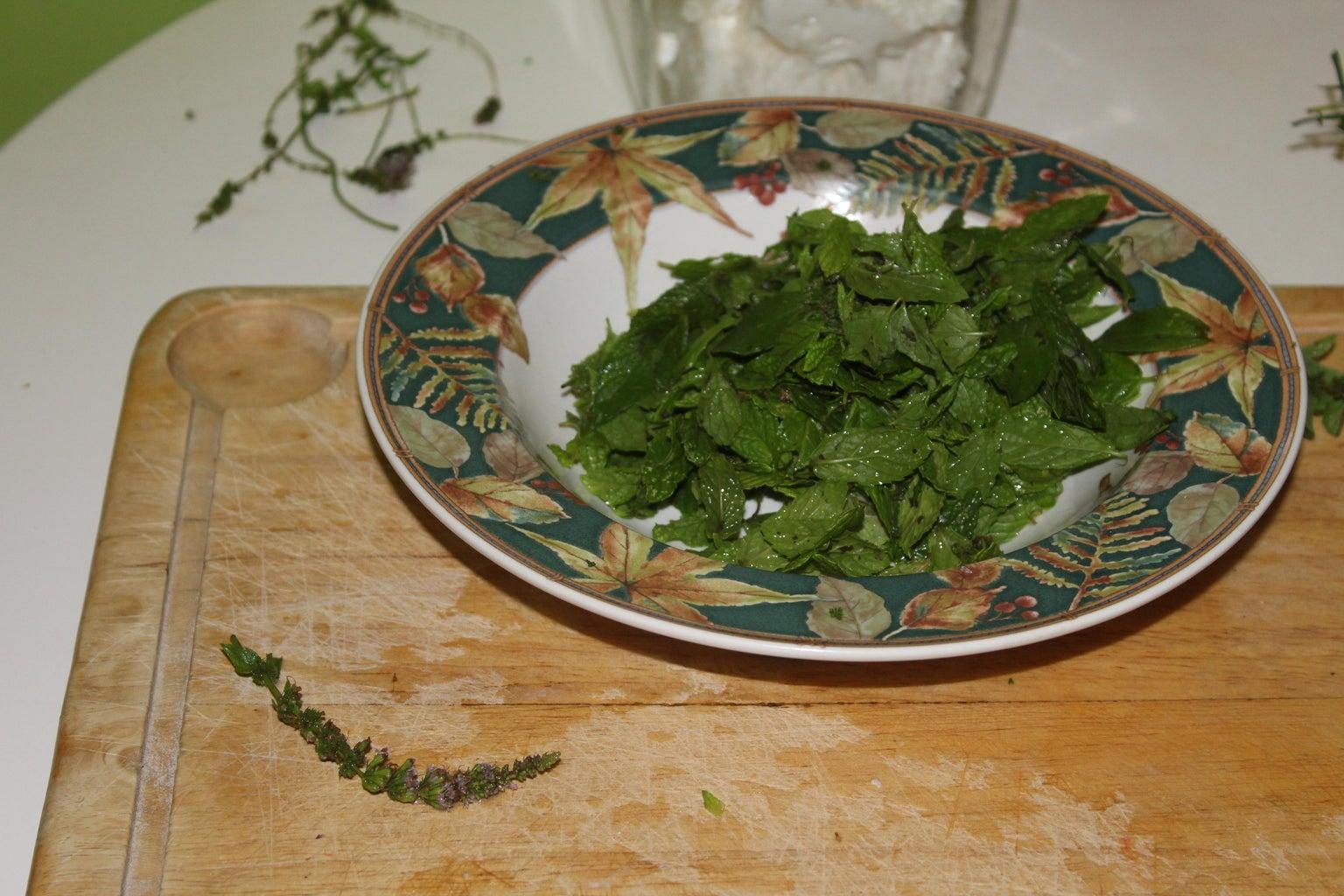 Prepare the Herbs