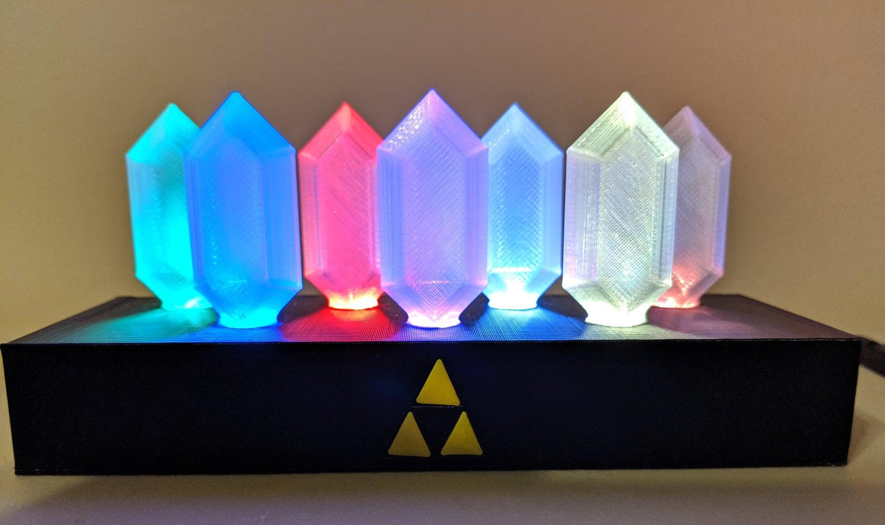 Legend of Zelda Rupee Nightlight (N64 Edition)