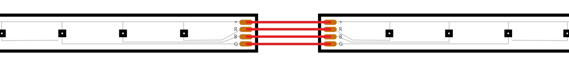 Placing LED Lights