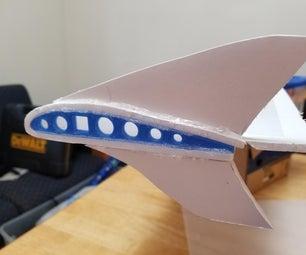 3D打印和泡沫板翼子板