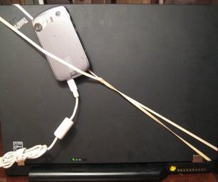 Tethered-Phone Holder