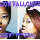 Lion Halloween Makeup | GRWM