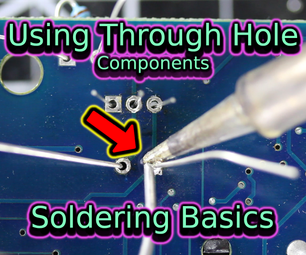 Soldering Through Hole Components | Soldering Basics