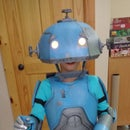 Foam Robot Costume, Beep Bebop of Robit Riddle