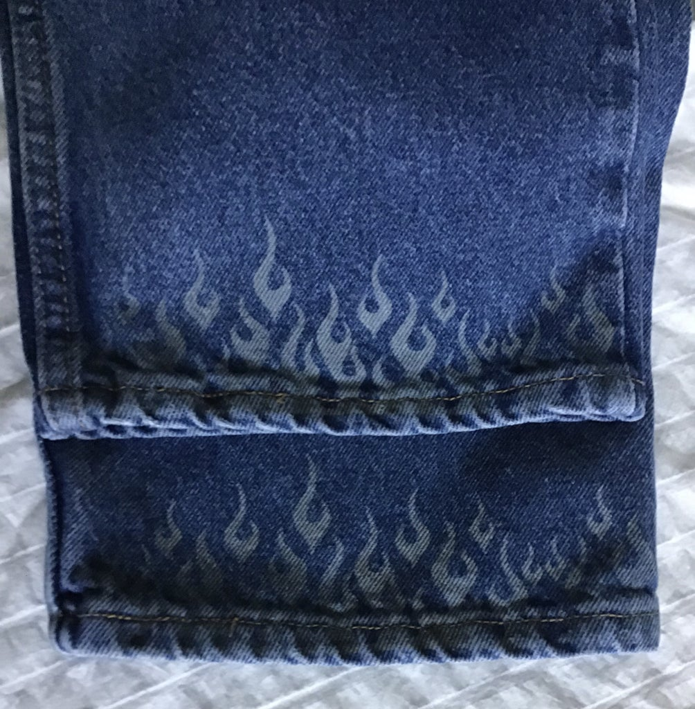 Finished Jeans