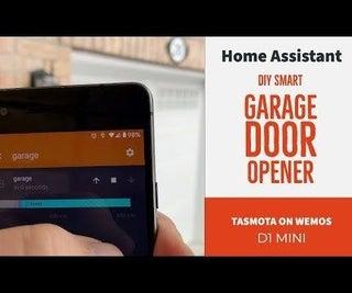 DIY Smart Garage Door Opener + Home Assistant Integration