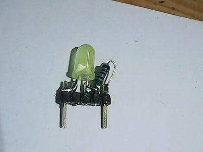 Easy to Make LED W/resistor for Solderless Breadboards