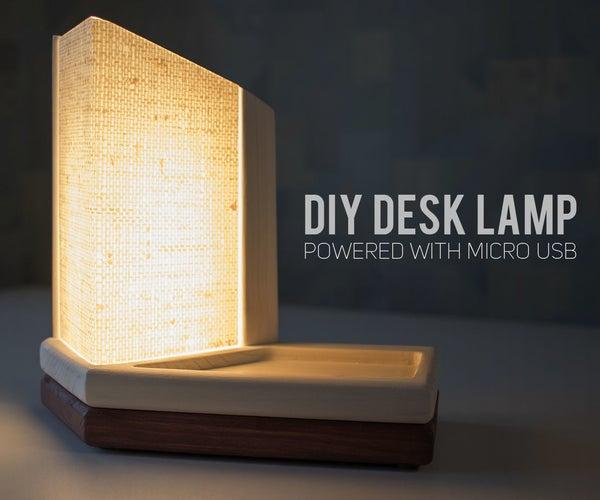 DIY Desk Lamp USB Powered