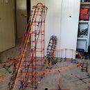 How to make a knex roller coaster