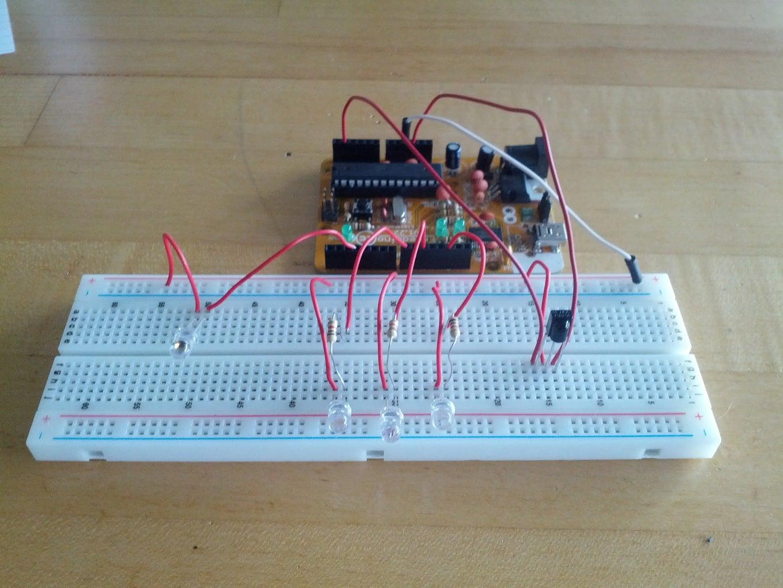 Wiring the IR Emitter
