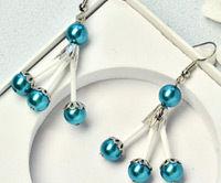 Beebeecraft Tutorials on Making a Pair of Pearl Earrings