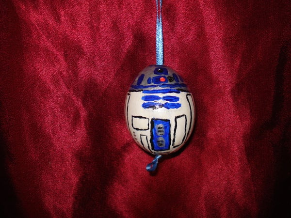 Star Wars Egg Ornaments