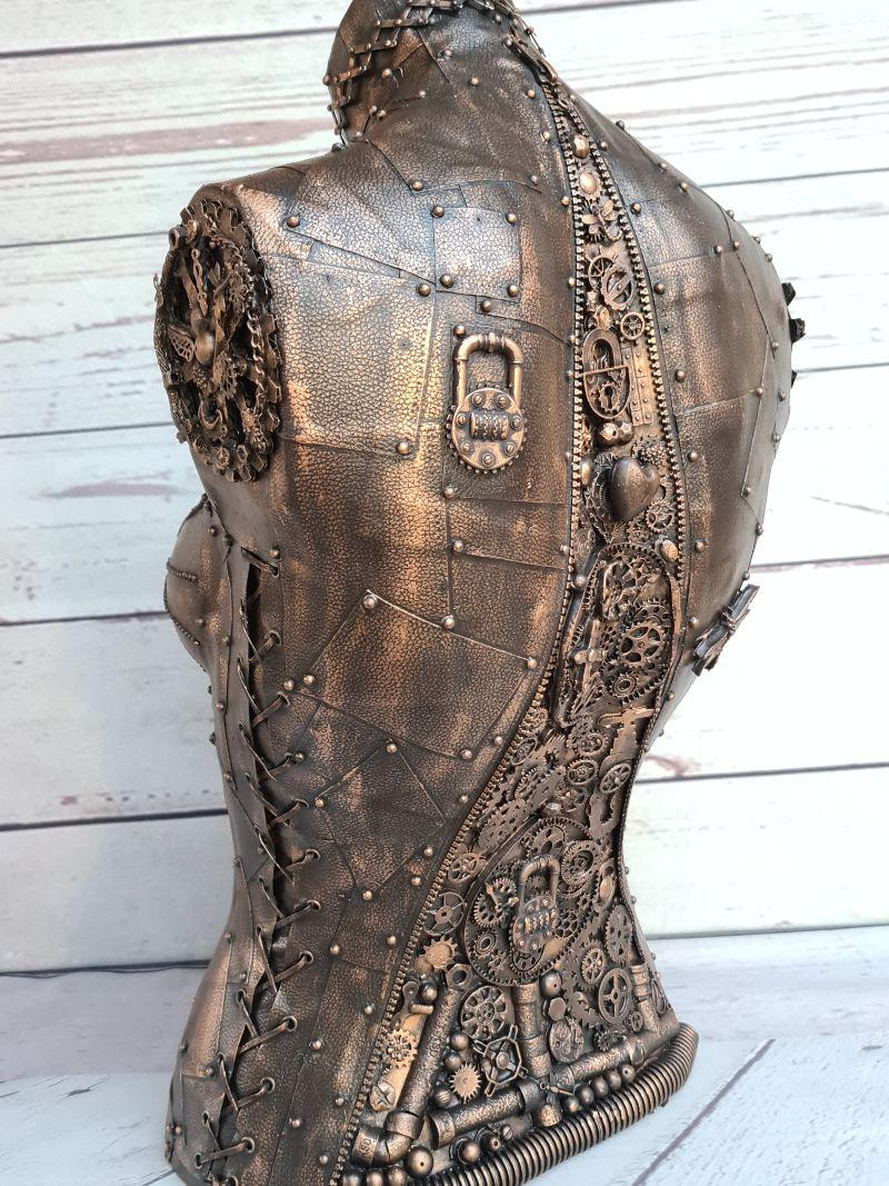 How to Give a Mannequin a Steampunk Makeover