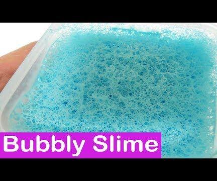 DIY Bubbly Slime