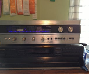 DIY Hi-Fi: Vintage Receiver Repair and Modification