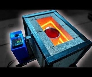 DIY Electric Foundry for Metal Casting (120V)