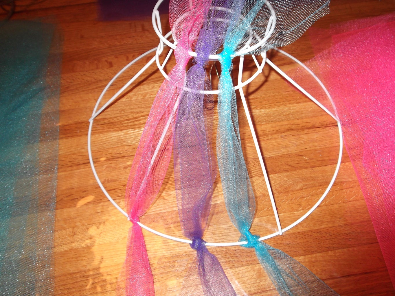 Tying the Tulle