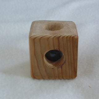 8-Ball in Solid Wood Cube