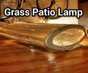 Grass Patio Lamp