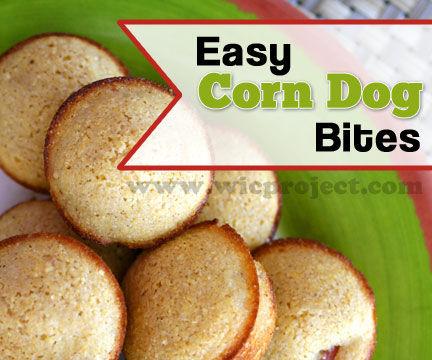 Corn Dog Bites