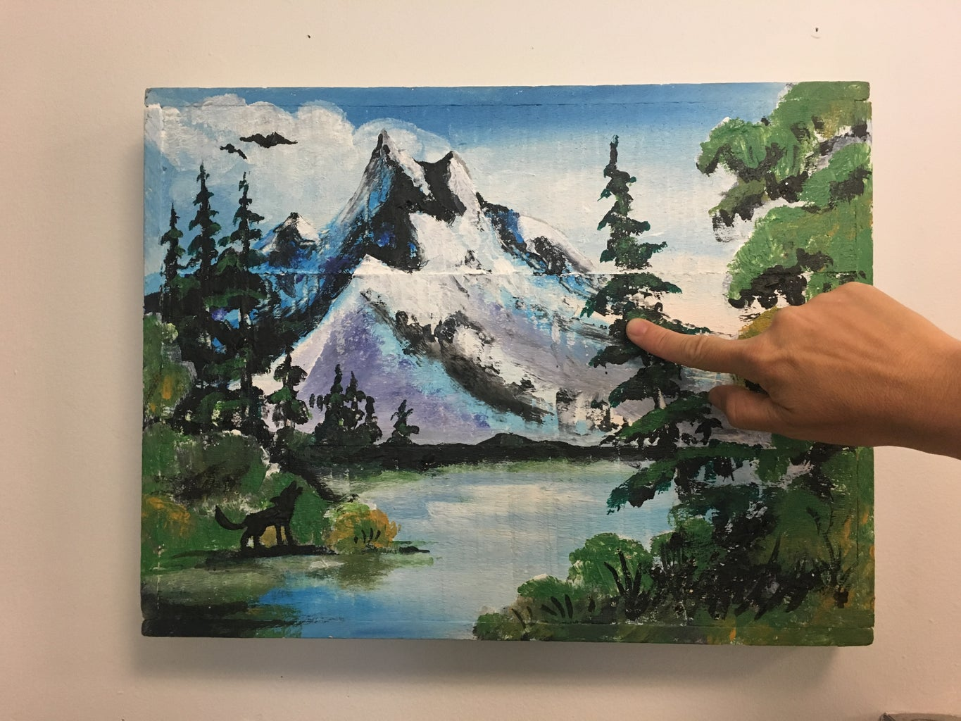 Interactive Painting - Inspired by Bob Ross