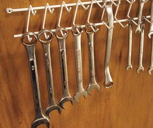 DIY Wrench Rack