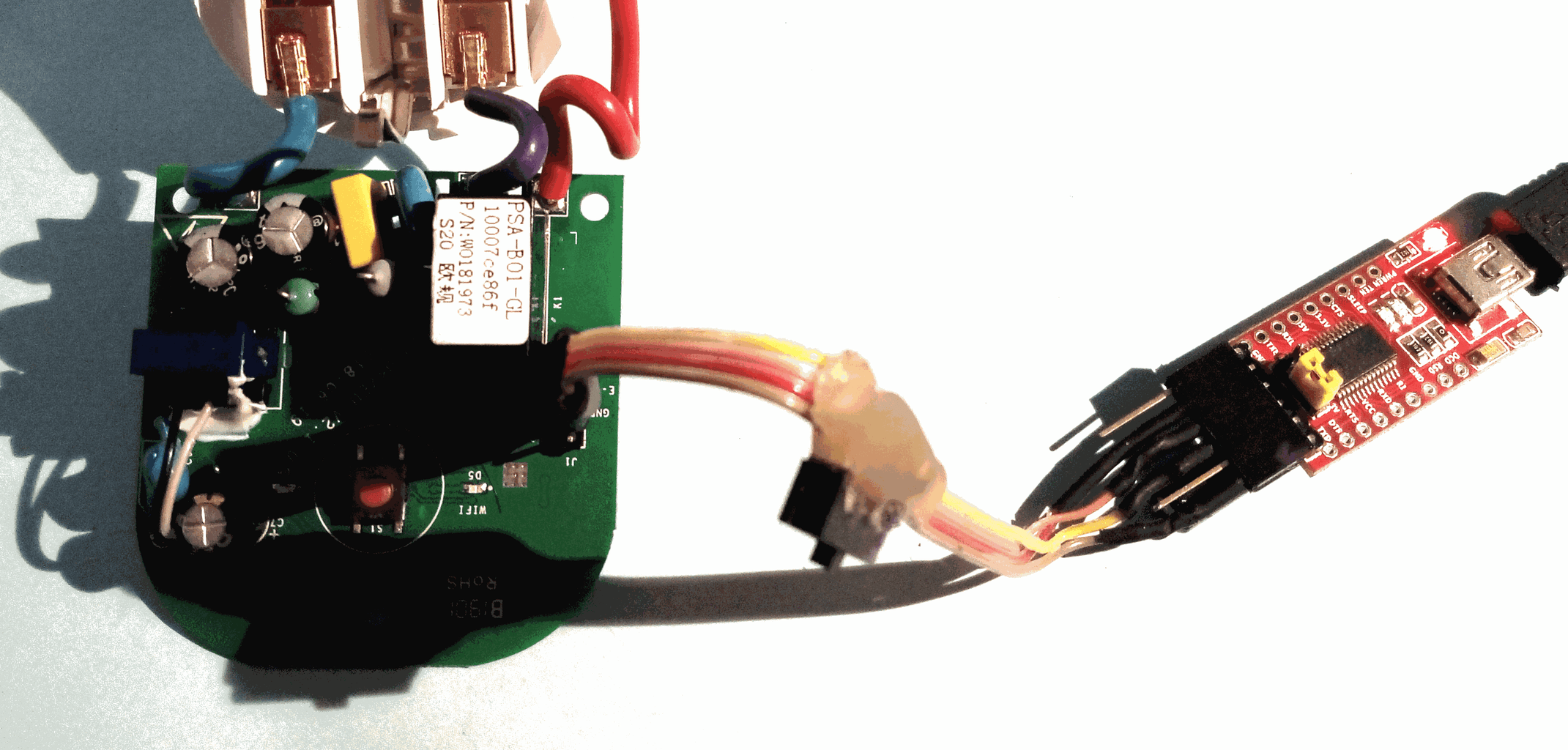 Preparation of Sonoff Switch S20