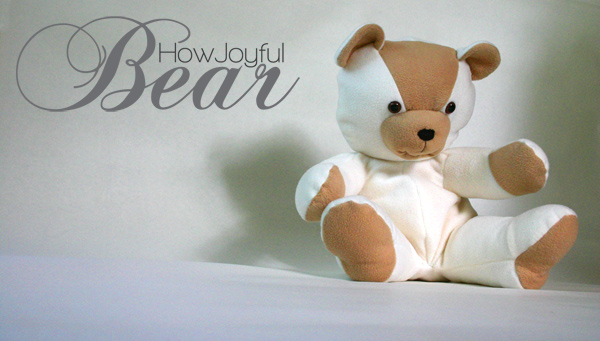 Teddy Bear tutorial and pattern