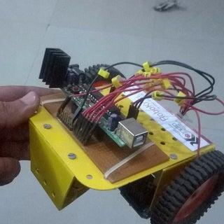 Maze Solving Robot