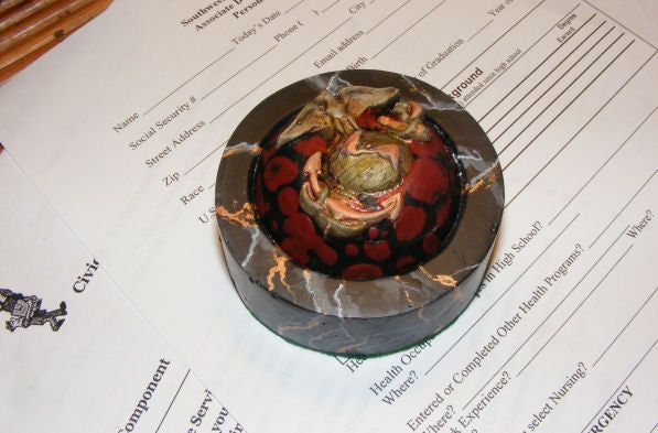 Personalized Paperweight:  USMC