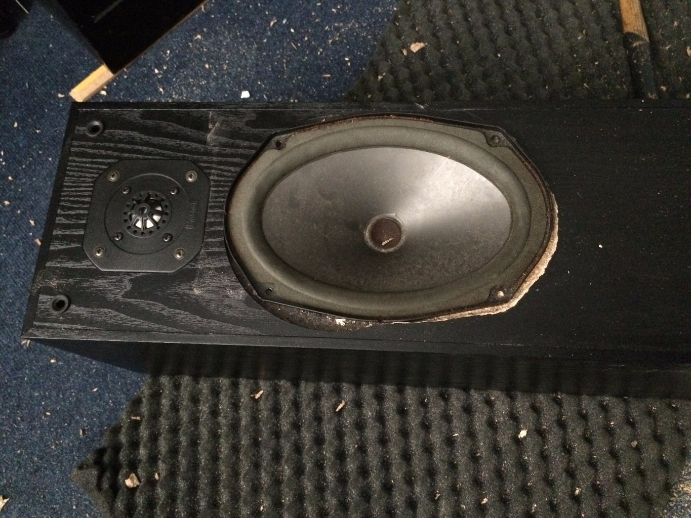 Re-assemble and Optional Relocate the Bass Reflex Hole