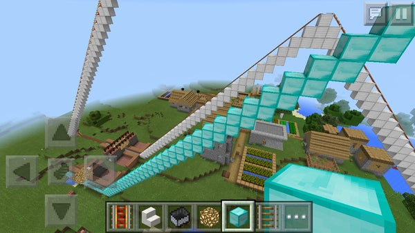 Diy Minecraft Roller Coaster