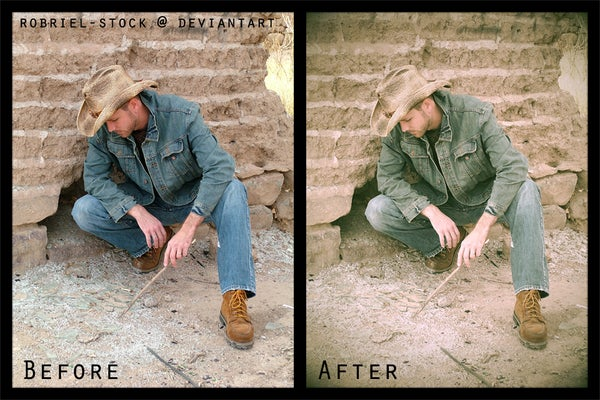 How to Turn a Modern Photo Vintage Using Photoshop