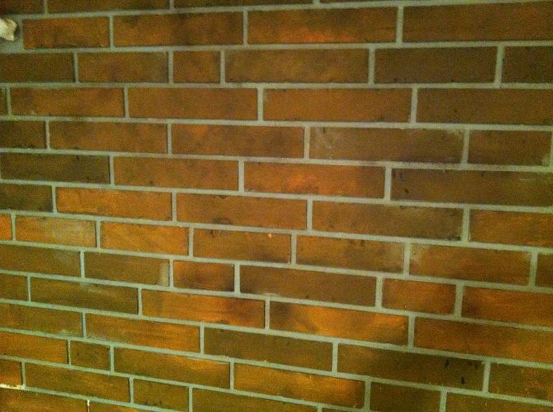 Fake Brick Wall