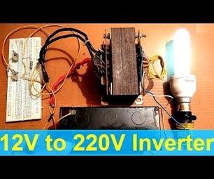 Square Wave Inverter DIY:
