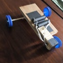 Car With Parallel Circuit (3 Wheels)