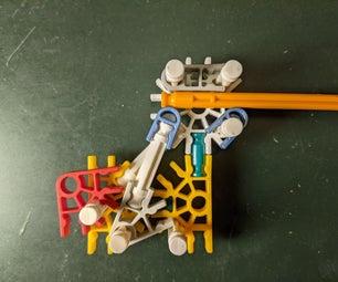 Simple 24 Piece K'nex Gun Trigger Assembly (includes Example Pistol)