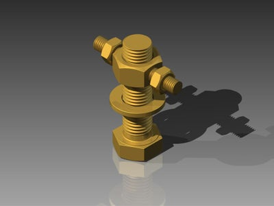 Brass Bolt Puzzle