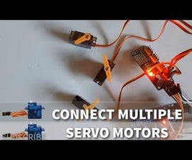 Arduino How to Connect Multiple Servo Motors  - PCA9685 Tutorial