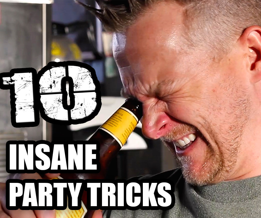 Top 10 Party Tricks for 2014 - YouTube Mega-Collaboration