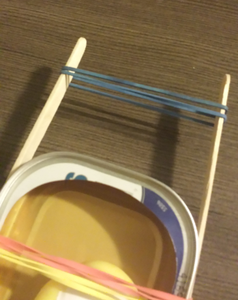 Add the Propeller Rubber Bands